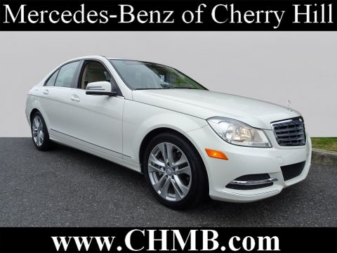 Certified Pre Owned 2012 Mercedes Benz C Class 300