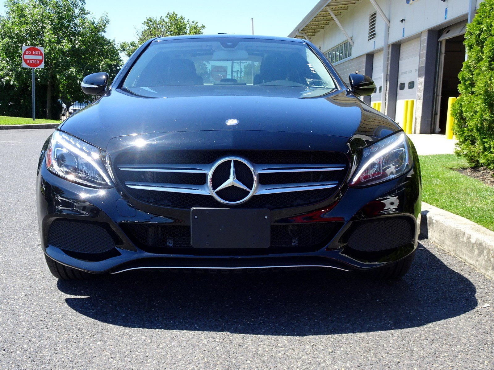 Certified Pre Owned 2015 Mercedes Benz C Class C 300 SEDAN in Cherry