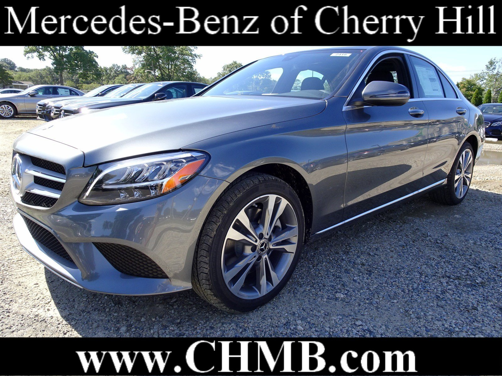 New 2019 Mercedes Benz C Class C 300 4dr Car in Cherry Hill M2416