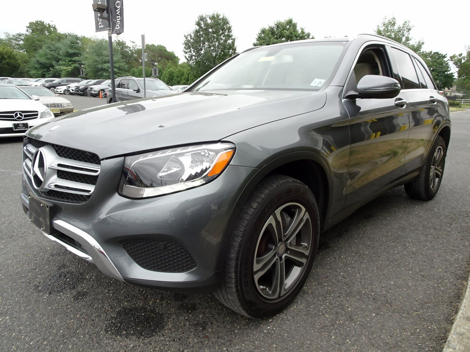 Certified Pre-Owned 2016 Mercedes-Benz GLC GLC 300 SUV in Cherry ...