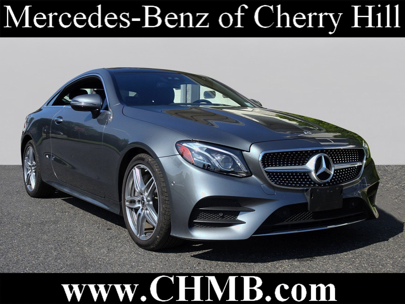 Pre Owned 2018 Mercedes Benz E Class E 400 Sport COUPE in Cherry