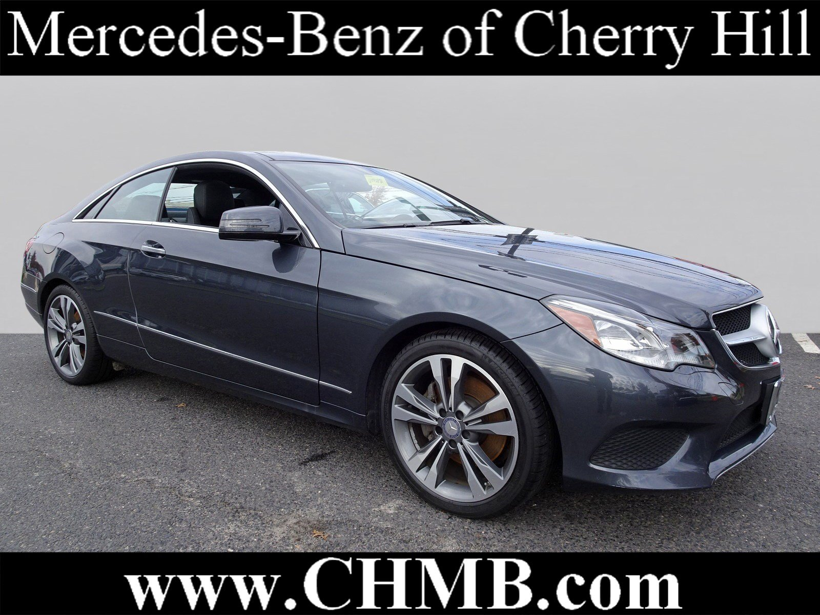 Certified Pre Owned 2016 Mercedes Benz E Class E 400 COUPE in Cherry