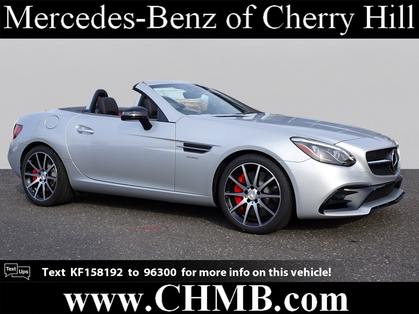 Pre-Owned 2019 Mercedes-Benz SLC AMG® SLC 43 Roadster