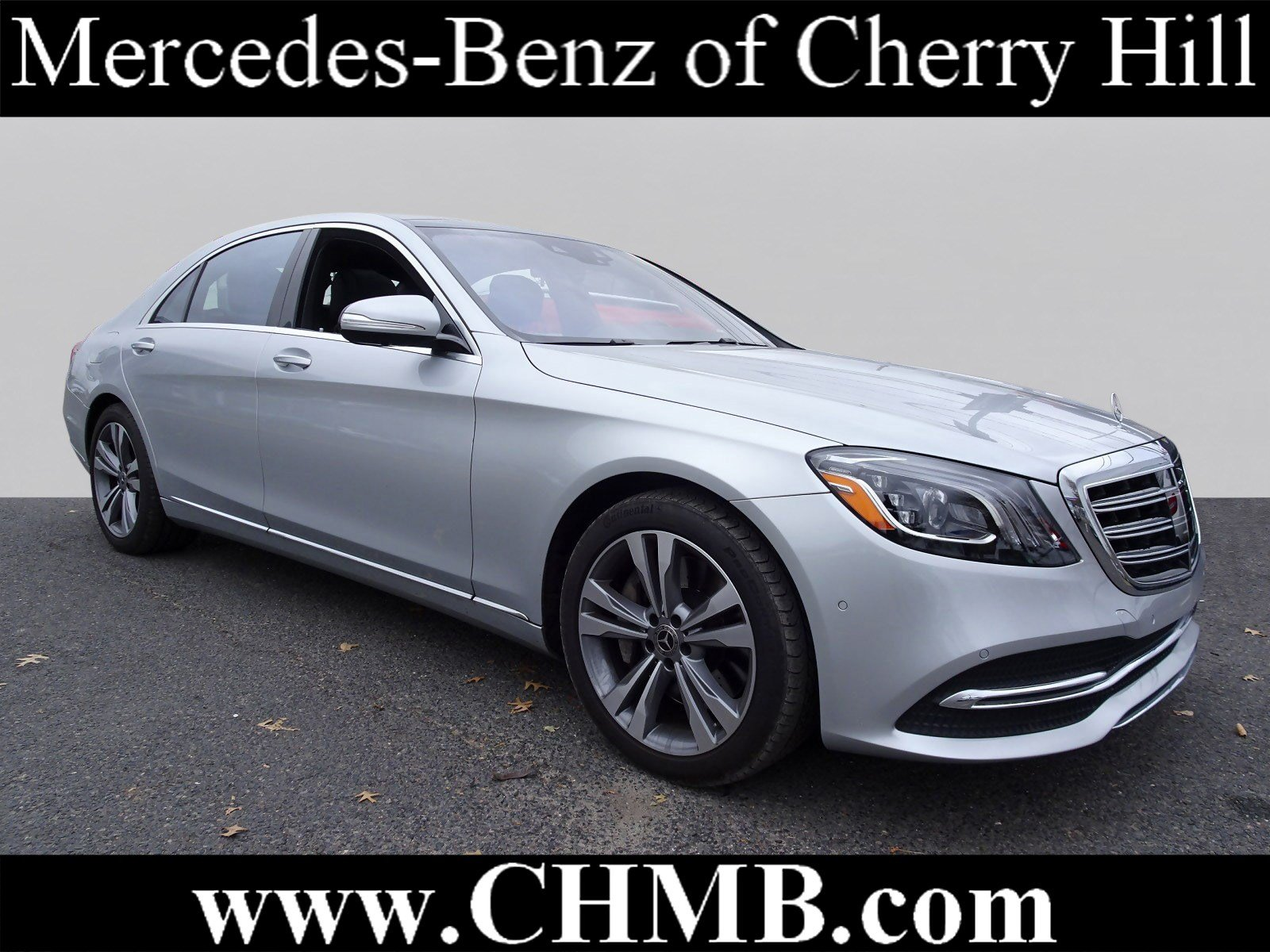 Certified Pre Owned 2018 Mercedes Benz S Class S 450 Sedan In Cherry