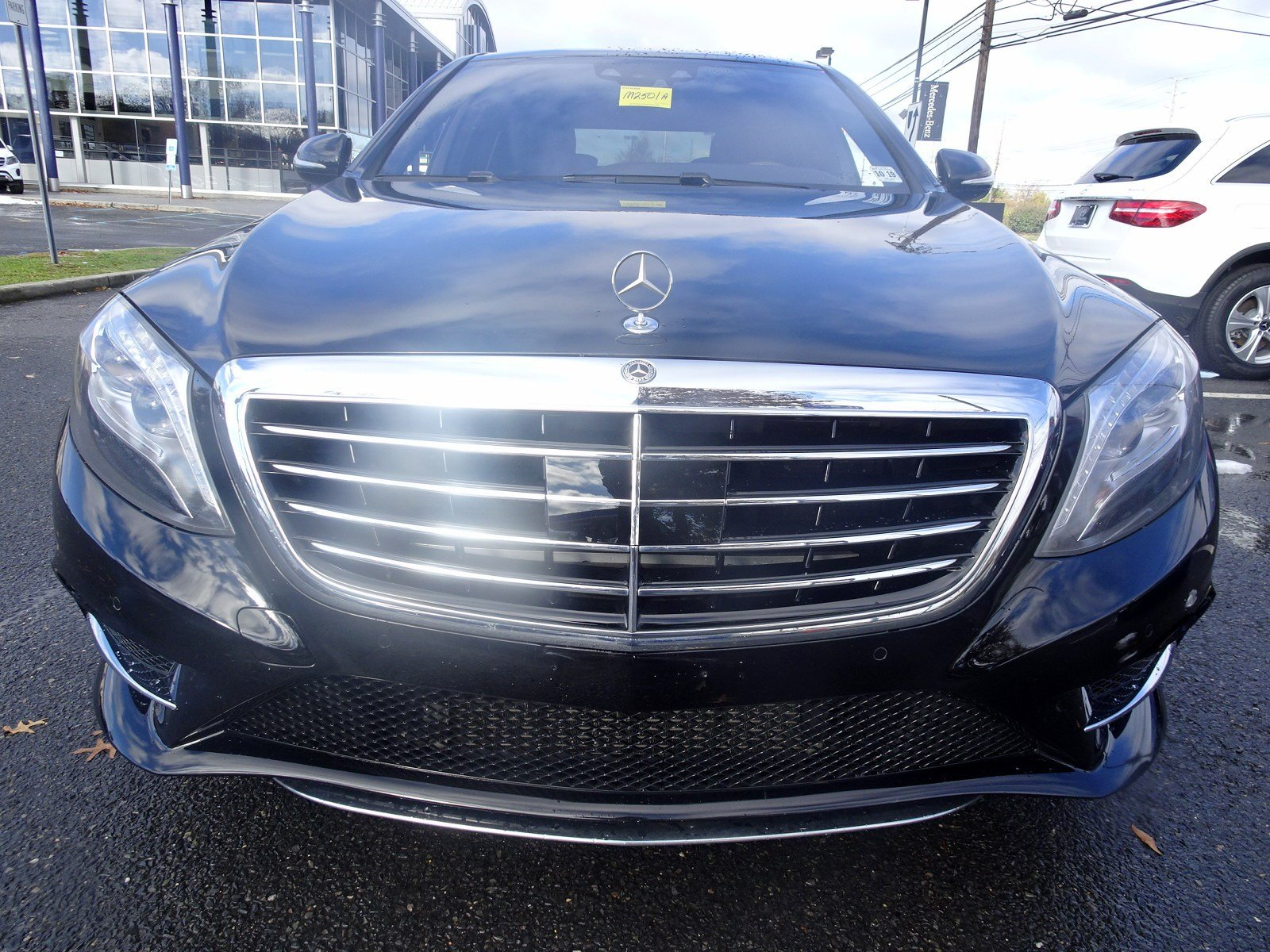 Pre Owned 2015 Mercedes Benz S Class S 550 Sport SEDAN in Cherry