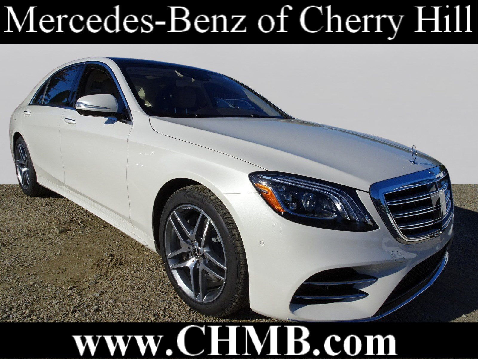 New 2019 Mercedes Benz S Class S 560 SEDAN in Cherry Hill M2484