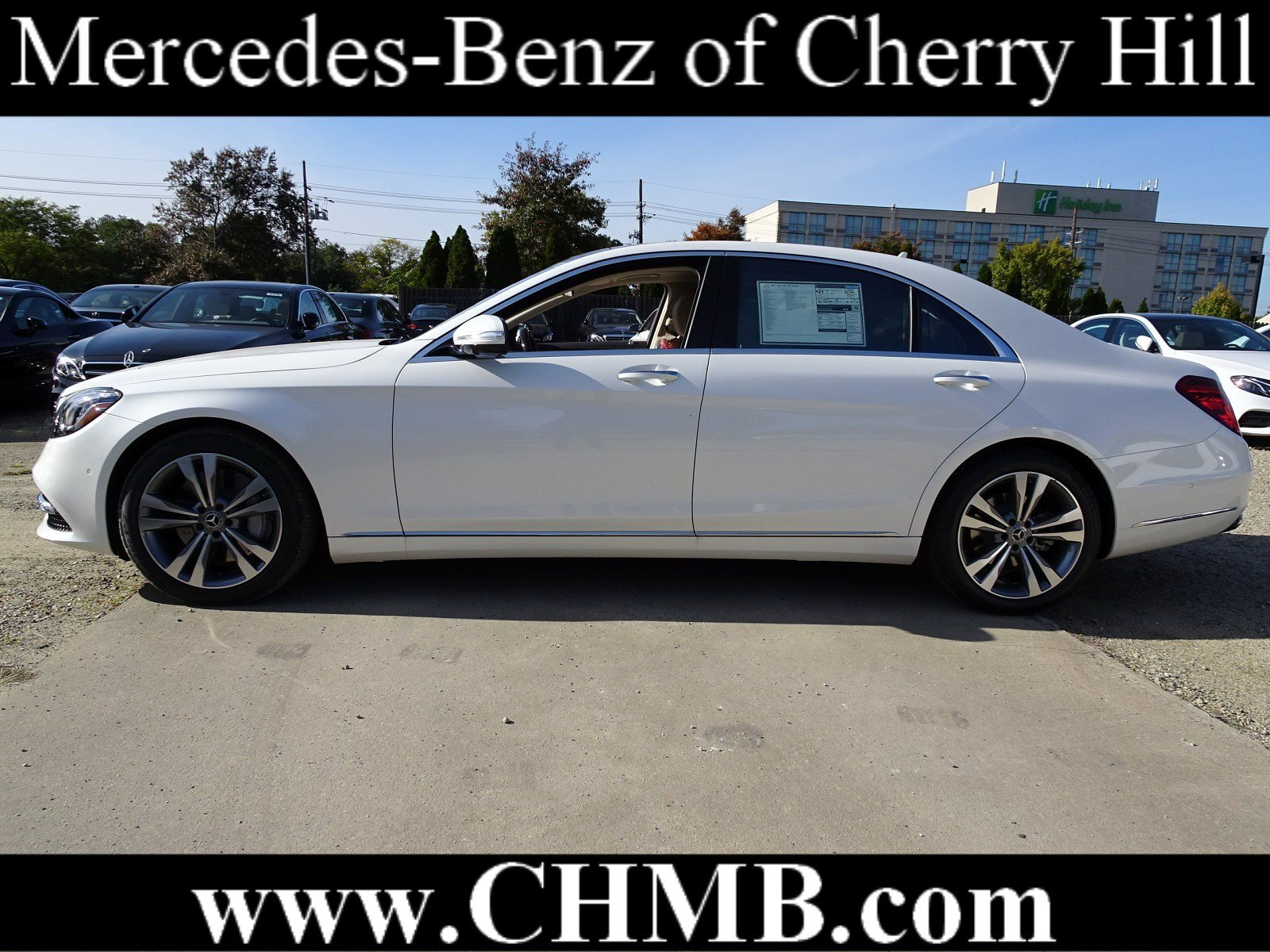 New 2019 Mercedes Benz S Class S 560 SEDAN in Cherry Hill M2456