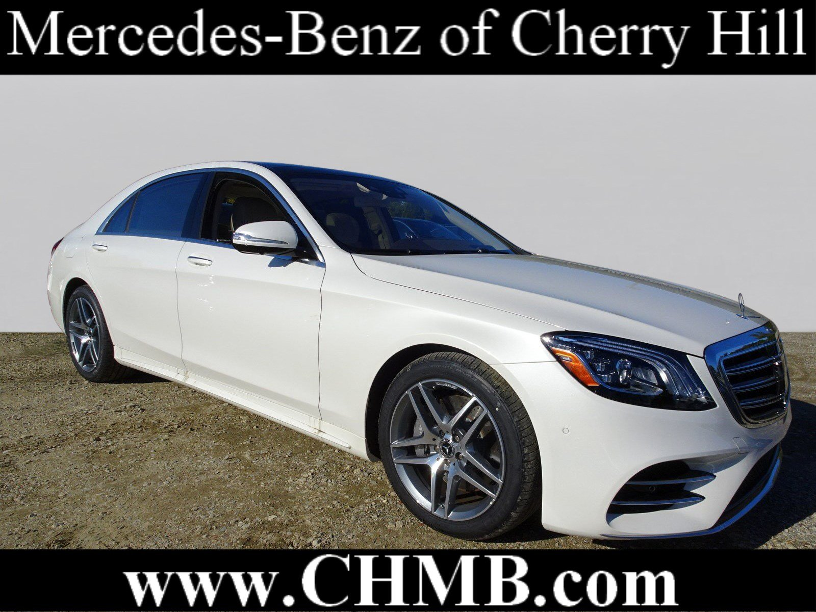 New 2019 Mercedes Benz S Class S 560 4dr Car in Cherry Hill M2457