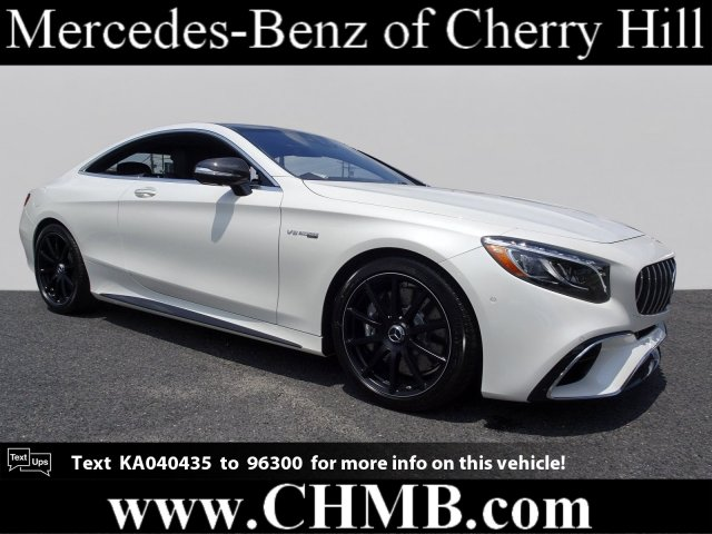 New 2019 Mercedes Benz S Class Amg S 63 Coupe Coupe In Cherry Hill